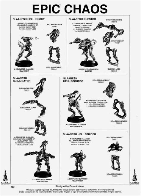 40K: Chaos Knights Tidbits - Bell of Lost Souls