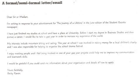 Formal Letter Format United Kingdom Formal Letter Format United Kingdom Sle Customer Service Resume