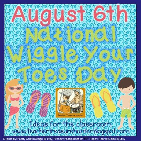 wiggly toes books august 6th national wiggle your toes day ideas for your