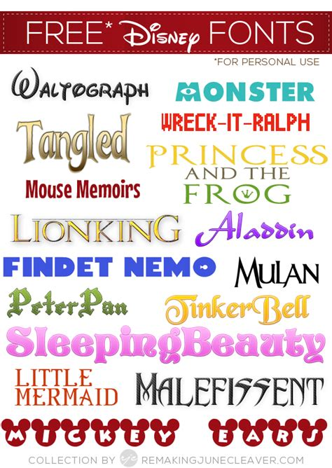 my favorite free fonts take 2 discover best ideas disney font free download images