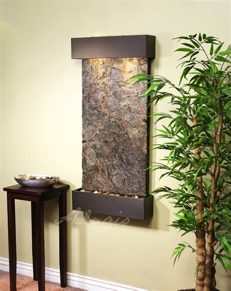 slate wall mounted water features the whispering creek