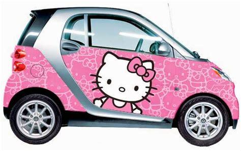 wallpaper bergerak mobil kumpulan gambar mobil hello kitty terbaru wallpaper hello