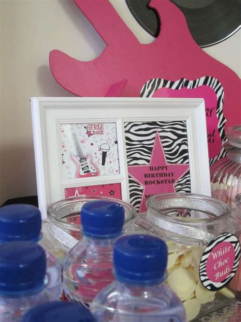 Pink Lebong 2 Pl 043 pink black and zebra birthday ideas photo 13 of