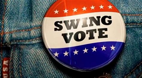 definition of swing voter swing vote after the film activities
