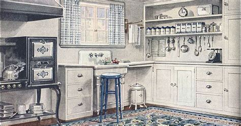 1920s interior design trends 1921 armstrong kitchen sanitary style style antiques