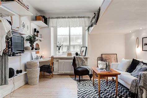 small apartment meets relaxed scandinavian design