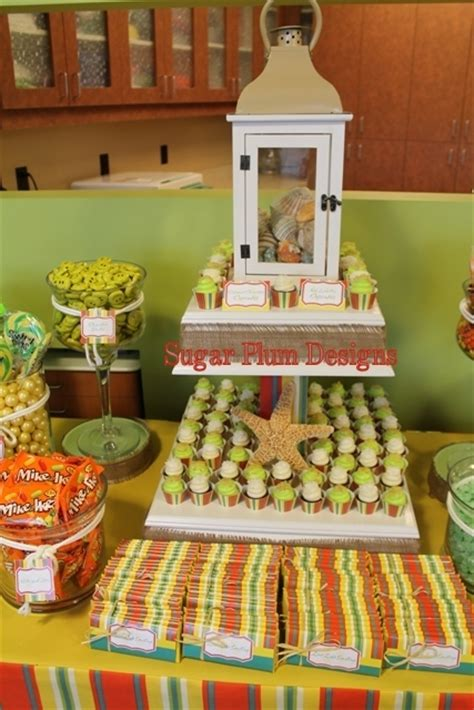 office themed events fiesta beach theme office party party ideas photo 1 of