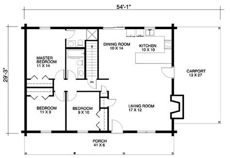 House Building Blueprint Basic House Blueprints Simple Home Design Blueprint