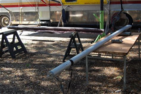 awning tube repair how to repair an rv awning with the mx57 rv awning roller