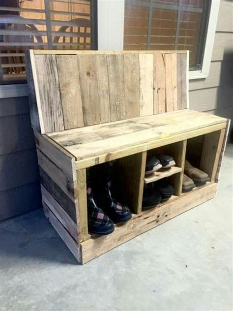 outdoor bench with shoe storage 25 best ideas about outdoor shoe storage on pinterest