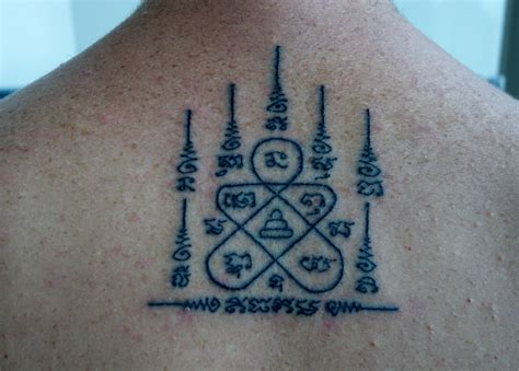 sak yant tattoo meaning sak yant radiant zigzag becoming
