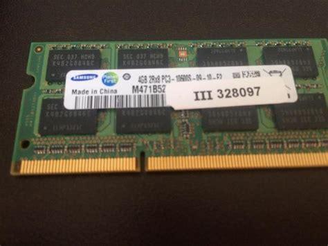 Ram 4 Giga Ddr3 Untuk Laptop 4 gig ddr3 laptop ram working summerside pei