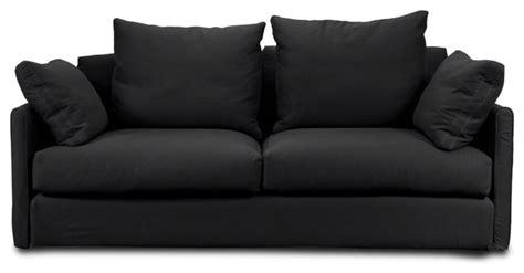 highbury black sofa contemporary sofas