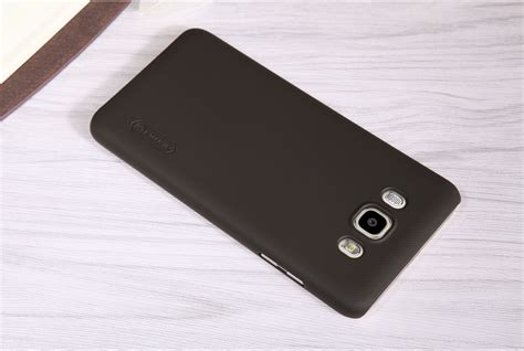 Samsung Galaxy J5 2016 Nillkin Frosted Shield Black samsung galaxy j5 2016 frosted shield nillkin lamina