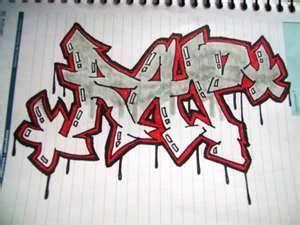 fotos  imagenes rap graffiti en papel