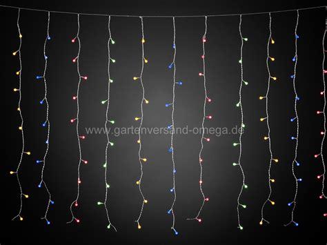 Weihnachtsdeko Fenster Led Vorhang by Bunter Led Lichtervorhang Mit 400 Globe Leds