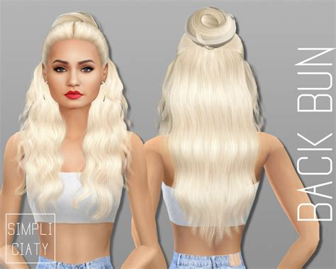 the sims 4 hair cc sims 4 cc s the best accessory hair buns by simpliciaty
