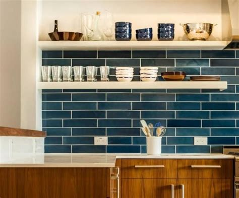 Blue Tile Backsplash Kitchen 25 Best Ideas About Blue Kitchen Tiles On Blue Kitchen Tile Inspiration Kitchen