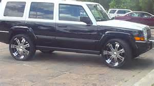bad azz jeep on 22 quot rims at a