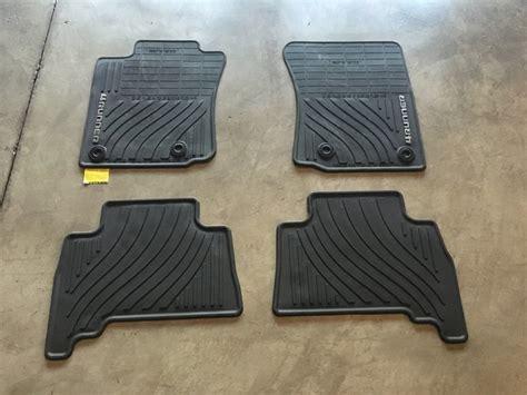 fs 2016 4runner trd pro floor mats sold toyota