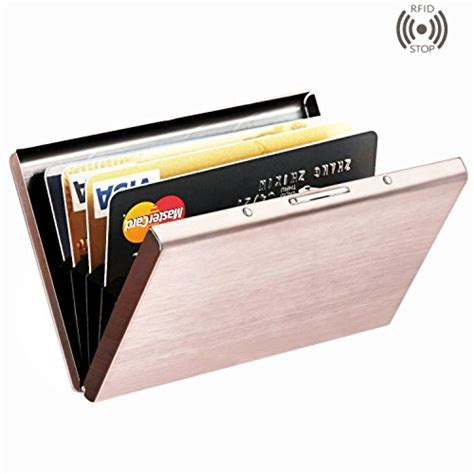 card holder best rfid blocking credit card holder maxgear stainless