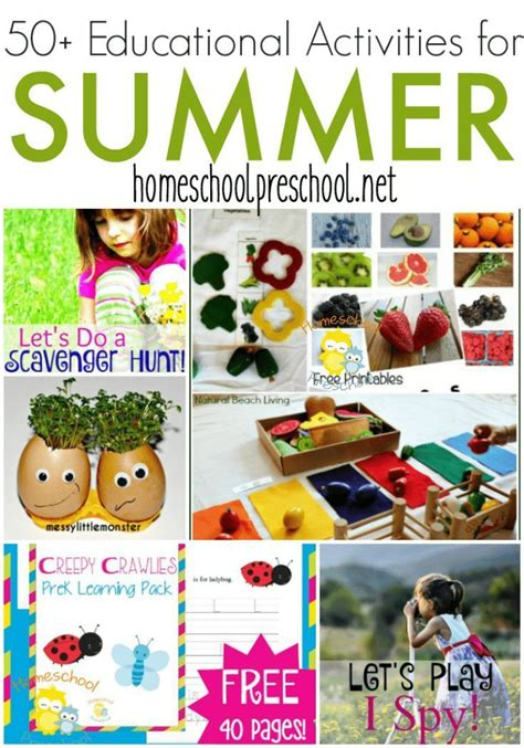 50 fun summer learning activities for kids