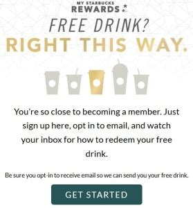Starbucks Gift Card Free Drink - get a free starbucks drink for buying just one gift card at face value ren 233 s