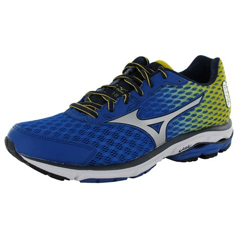 shoes similar to mizuno wave rider mizuno mens wave rider 18 running sneaker shoes ebay