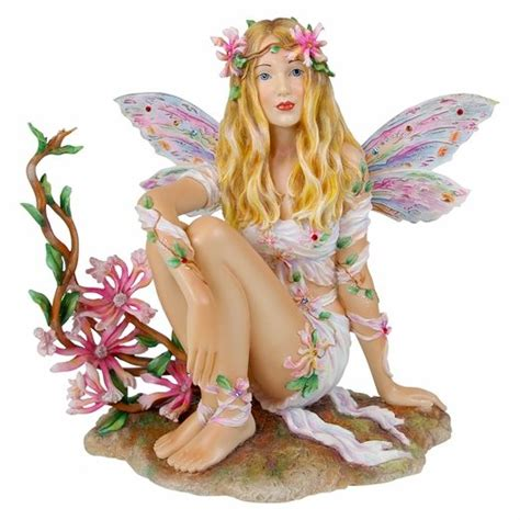 Whispers Figurine By Christine Haworth Collectible Item honeysuckle faery more figurines fairyglen