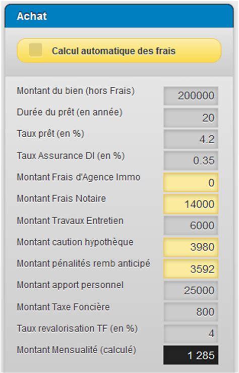 Credit Immobilier Pour Louer 4334 by Simulation Achat Ou Location En Immobilier Le Tutoriel