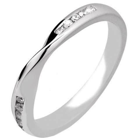 platinum shaped wedding ring p r1140di10