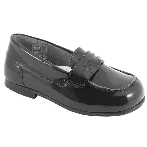 boys black loafers boys black patent loafer shoes cachet