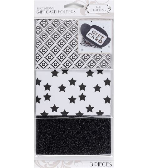 Card And Gift Company - k company black and white gift card holders jo ann