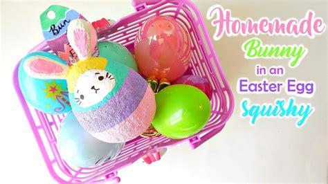 Squishy Bunny Egg bunny in an egg squishy collab with craftyneko