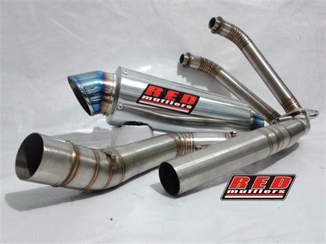 Knalpot Mufflers M17 Carbon Kevlar Yamaha R15 Dan Xabre m17 system kawasaki 250 all type