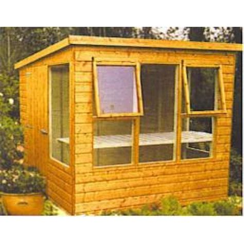 Pent Potting Shed by Pent Potting Shed Longford Fencing