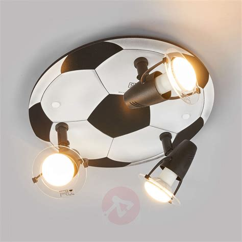 Football Ceiling Light Football Ceiling Light With 3 Bulbs Lights Co Uk