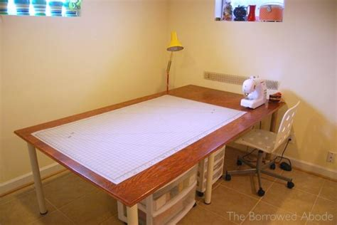 sewing and cutting table 15 perfect diy tables for your sewing room sew guide