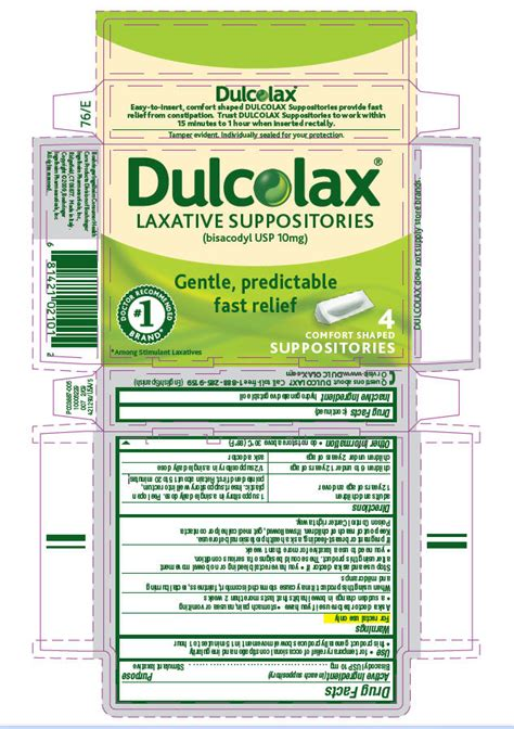Dulcolax 10 Suppos dulcolax suppository www pixshark images galleries