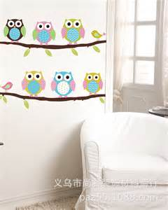 removable wall stickers for rooms 2016 new arrive owl wall sticker removable home decor