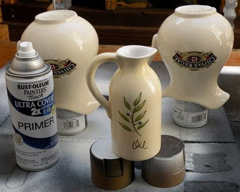 Spray Paint Ceramic Vase by Painting Ceramics For The Home
