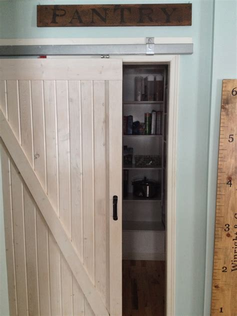 Barn Door Pantry Entrance For The Home Pinterest Barn Doors For Pantry
