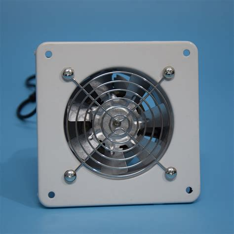 24 inch exhaust fan 100mm exhaust fan 4 inch dust blower used for kitchen