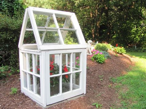 Small Wooden Greenhouse Plans