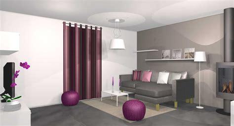 deco chambre gris et mauve charmant mur violet et gris et deco salon moderne violet
