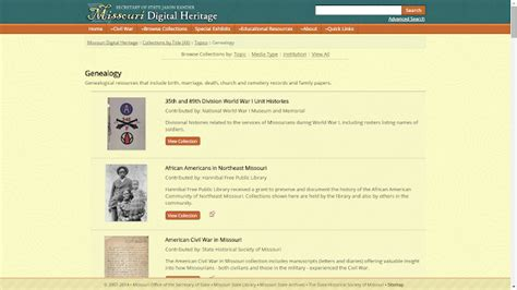 Missouri Birth Records After 1910 Genea Musings Tuesday S Tip Check Out Missouri Digital Heritage Collections