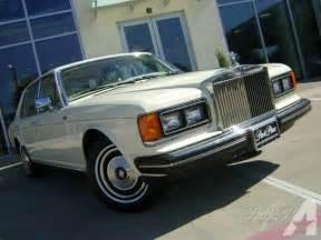 1985 Silver Spur Rolls Royce 1985 Rolls Royce Silver Spur For Sale In Dallas