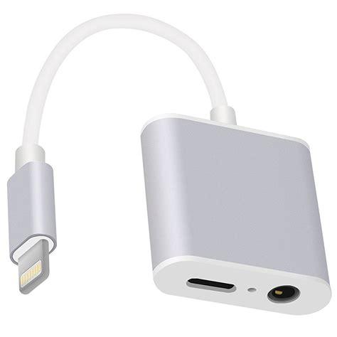 Adaptor Iphone 7 audio accessories audio adapter for iphone 7 7 plus 163096 quickmobile quickmobile