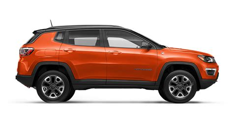 orange jeep compass all new 2017 jeep compass colour options