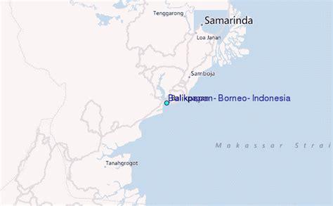 balikpapan borneo indonesia tide station location guide
